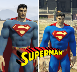 Superman (MKvsDC) W/Cloth Physics
