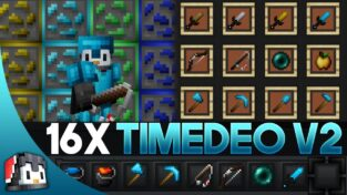 TimeDeo 2K V2 [16x] MCPE PvP Texture Pack