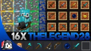 TheLegend28 [16x] MCPE PvP Texture Pack