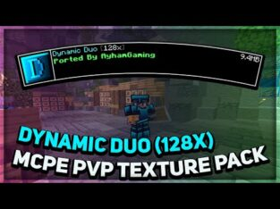 Dynamic Duo (128x) MCPE PvP Texture Pack