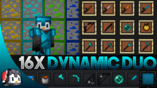 Dynamic Duo V2 [16x] MCPE PvP Texture Pack