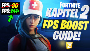 Fortnite Chapter 2 Season 1 FPS Boost and Textures