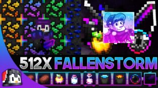 FallenStorm Fade [512x] MCPE PvP Texture Pack
