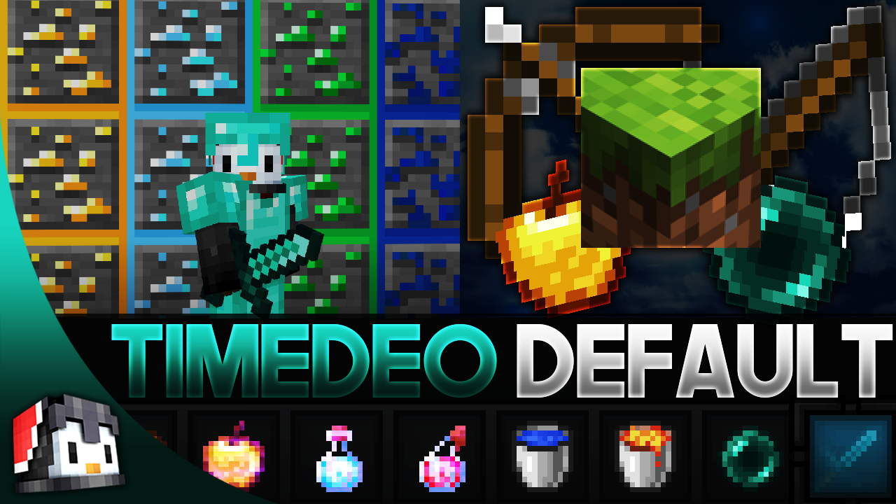 TimeDeo 1.14 Default MCPE PvP Texture Pack - Gamertise