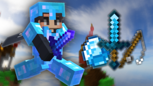 Blue Default [16x] PVP Texture Pack (1.8.9)