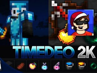 TimeDeo 2K Revamp [16x] MCPE PvP Texture Pack