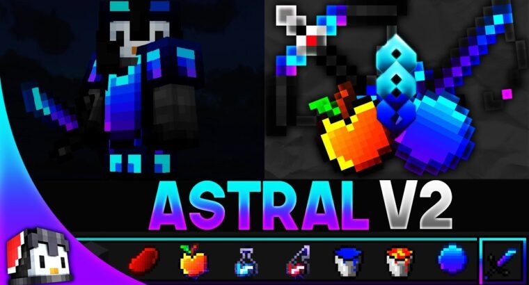 Astral V2 [16x] MCPE PvP Texture Pack