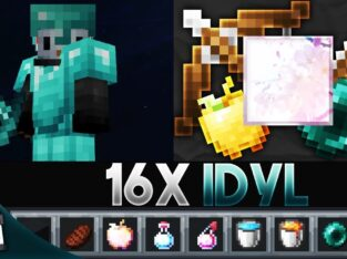 idyL [16x] MCPE PvP Texture Pack (FPS Friendly)