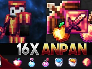 Anpan [16x] MCPE PvP Texture Pack (FPS Friendly)