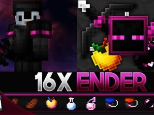 Ender [16x] MCPE PvP Texture Pack (FPS Friendly)