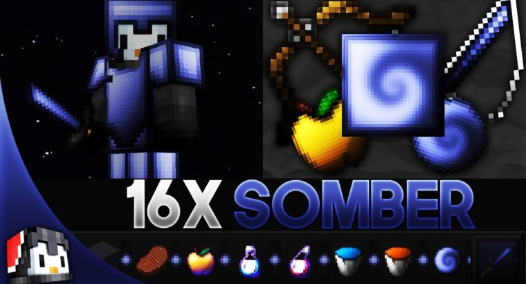 Somber [32x] MCPE PvP Texture Pack (FPS Friendly)
