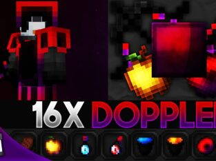 Doppler [16x] MCPE PvP Texture Pack (FPS Friendly)
