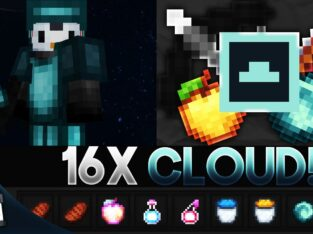 Cloud! [16x] MCPE PvP Texture Pack (FPS Friendly)