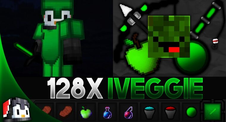 iVeggie [128x] MCPE PvP Texture Pack by Mysticals