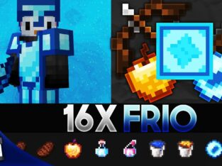 fri0 [16x] MCPE PvP Texture Pack (FPS Friendly)