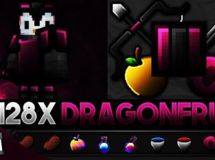 Dragonfruit [128x] MCPE PvP Texture Pack