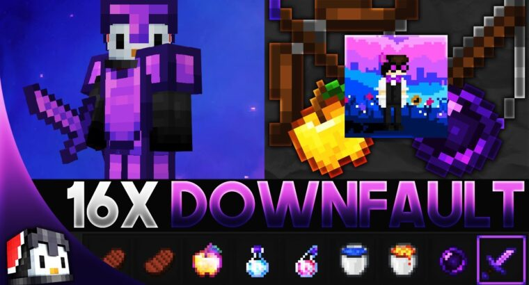 Downfault [16x] MCPE PvP Texture Pack
