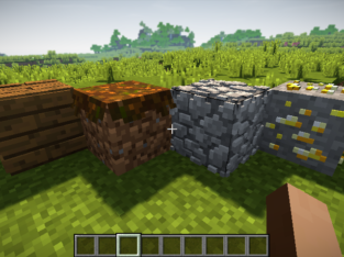 Minecraft Default 3D High Texture Pack